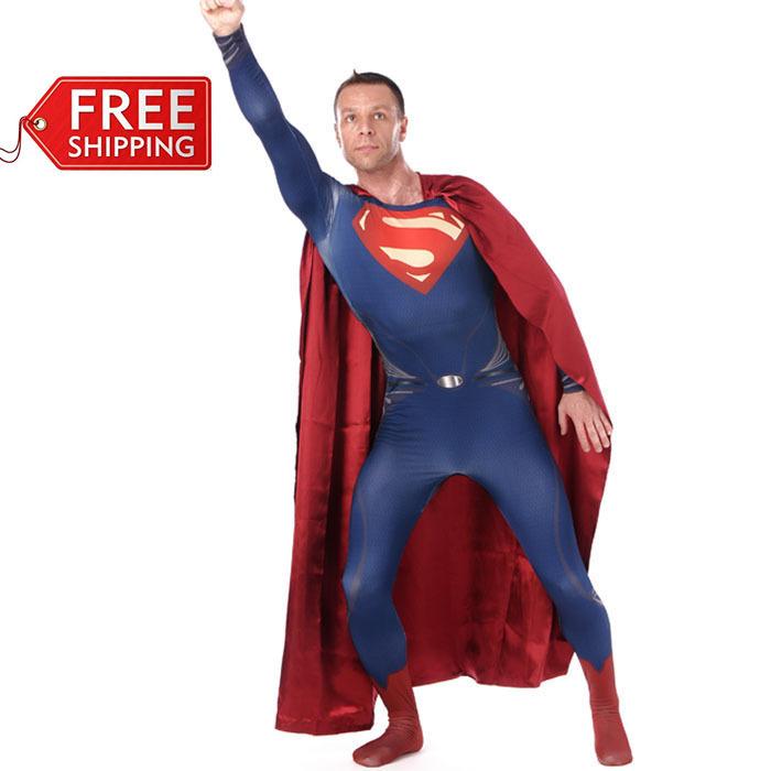 Disfraz Superman Adulto Traje de Superman Para Adultos