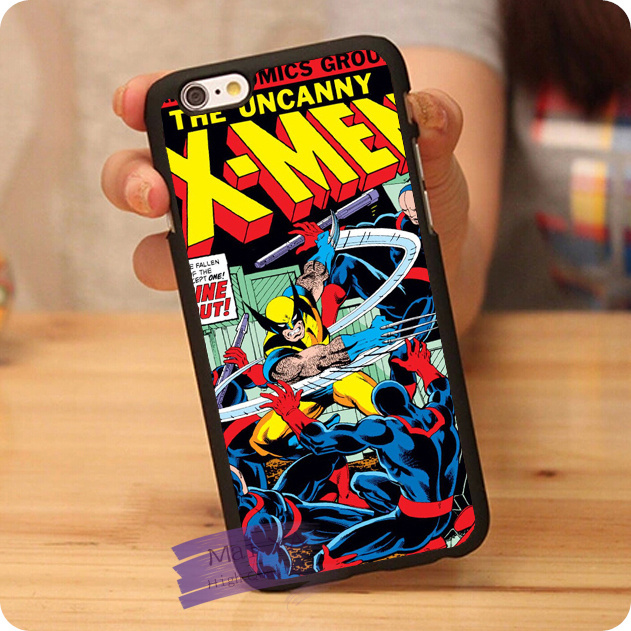Cool X men Comic Hard Skin Mobile Phone Cases Pouch Accessories For ...