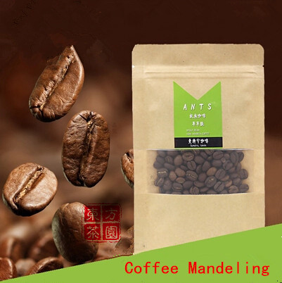 New Arrivals Enjoy Level Green Coffee Slimming Indonesia Imported Raw Beans Mandeling Coffee Bean Cofee 100G