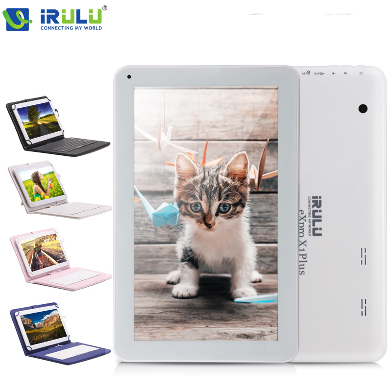 """iRULU eXpro X1Plus 10.1"""" Android 5.1 Tablet PC Quad Core 1GB/16GB Dual Camera Bluetooth WIFI Tablet w/Keyboard Google GMS Tested(China (Mainland))"""