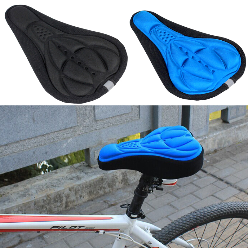 High Quality Bicycle Saddle Bicycle Parts Cycling Seat Mat Comfortable Cushion Soft Seat Cover for Bike HW045(China (Mainland))