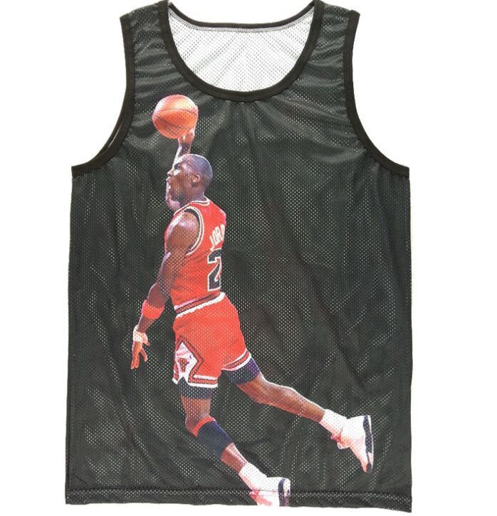 xxl 2015 unisex men women 39 s mesh tank tops jordan 23. Black Bedroom Furniture Sets. Home Design Ideas