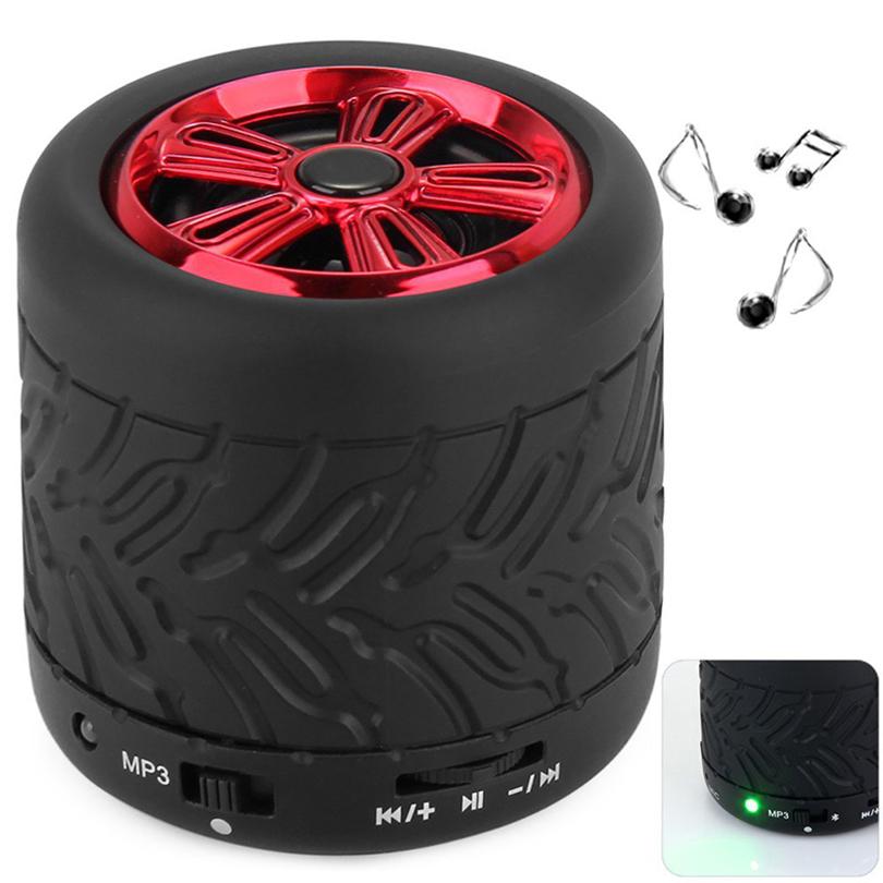 Bluetooth Speaker Altavoz Speakers Column Tire Parlantes 3D Surround Subwoofer Stereo Caixa De Som Altavoz Computer Speakers(China (Mainland))