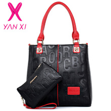 Factory outlet handbag classic women famous brand bags luxury colorful womans handbag leather genuine pink ladies bags(China (Mainland))