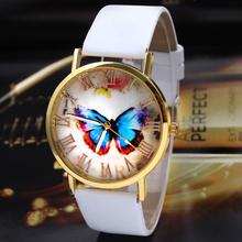 Excellent Quality Hot Women Quartz Watches New Fashion Casual Watches Unisex Women Men Vintage Leather Wristwatch Relojes Clock