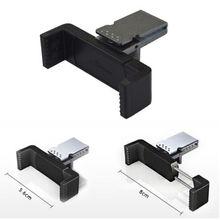 Black Universal Elastic Mobile Phone Holders Car Air Vent Holder Mount Bracket for iPhone Samsung Cellphone GPS MP4 PDA