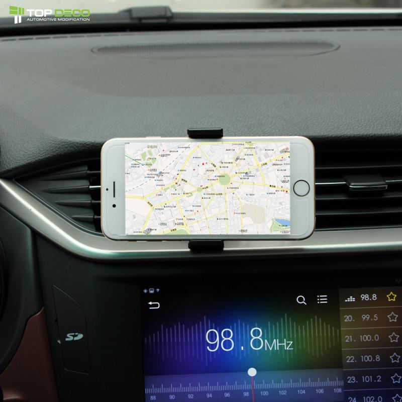 Universal Car Air Vent Cell Phone Holder For Volkswagen VW Golf 6 GOLF GTI R R20 Tiguan Passat Polo Jetta Golf 7 MK7(China (Mainland))