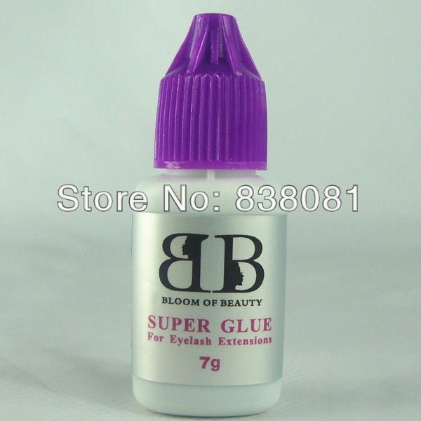 free shipping high quality Korea eyelash extensions glue makeup eyelash glue super glue 7g/bottle(China (Mainland))