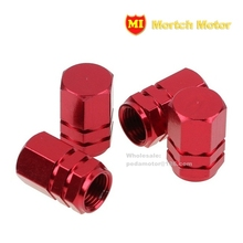 4Pcs Tire Valve Stem Caps Aluminum Universal Car Motorcycle Auto Bicycle Alloy Air Dust cover (free shipping)(China (Mainland))