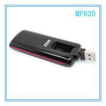 DHL Free shipping ZTE MF820 4G LTE Modem 100Mbps PK huawei E398 WIFI wireless unlocked LTE band(1800/2100/2600) new arrivals(China (Mainland))