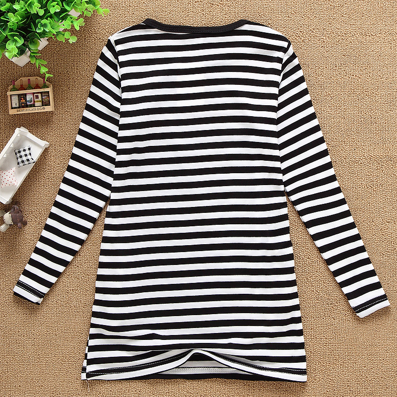 Hot Retail 2016new spring children clothing kids girls clothes Long-sleeve princess T-shirt cotton bottoming shirt drop shipping