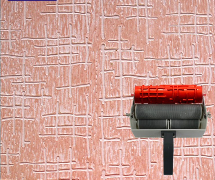 Wall paint tools patterned roller for wall decoration 7 for Wall painting utensils