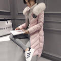 Best Winter Lady Natural fox fur collar Women s Genuine Fur Overcoat Girl s real fox