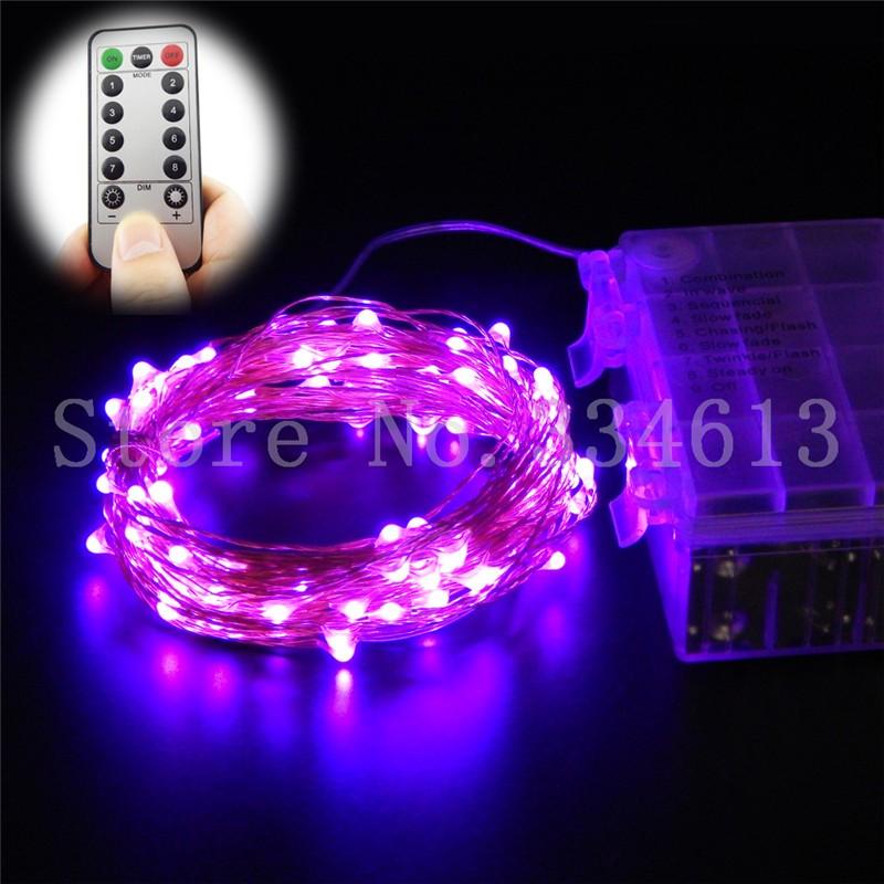 String Lights With Remote Control : RUICHEN 6m 10m Remote Control LED Fairy String lights Christmas Weddiing decor eBay