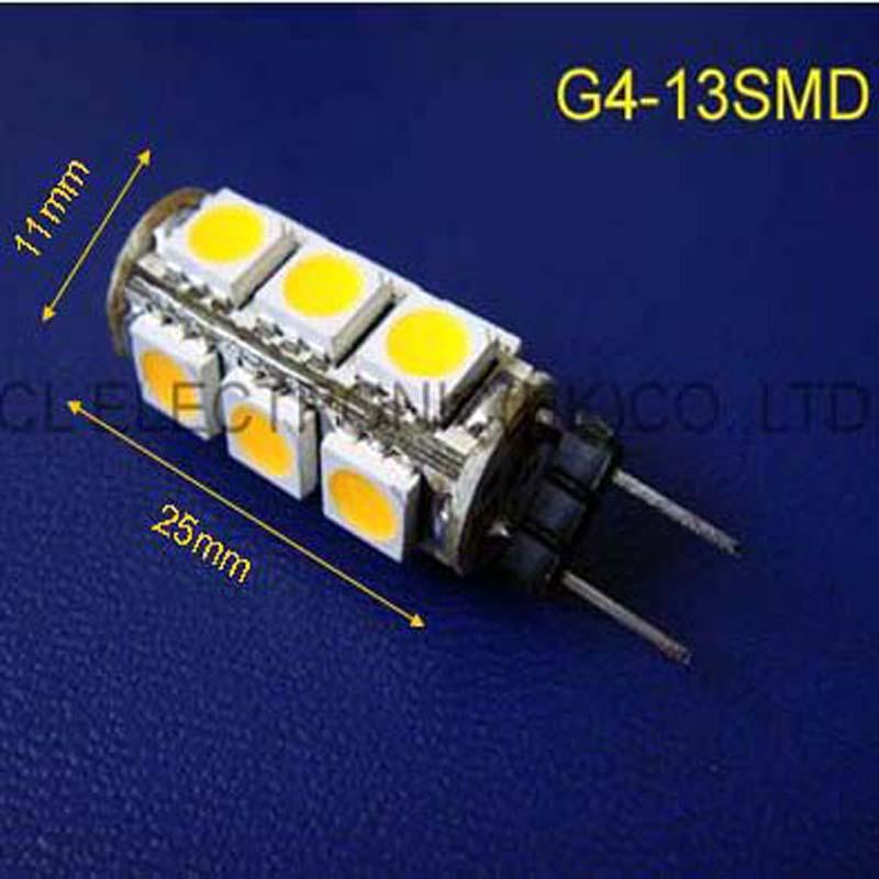High quality 12Vdc led G4 Crystal lights G4 Led decorative light DC12V G4 led lamps GU4 LED lights 12v free shipping 10pcs/lot(China (Mainland))