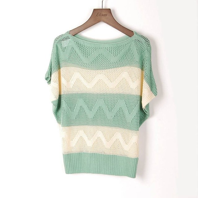 On Sale!!hot New Fashion Korea/japan Women Hollow Cardigan Sweater,ladies Knitwear Cardigans Pink/yellow/green/black/blue/red