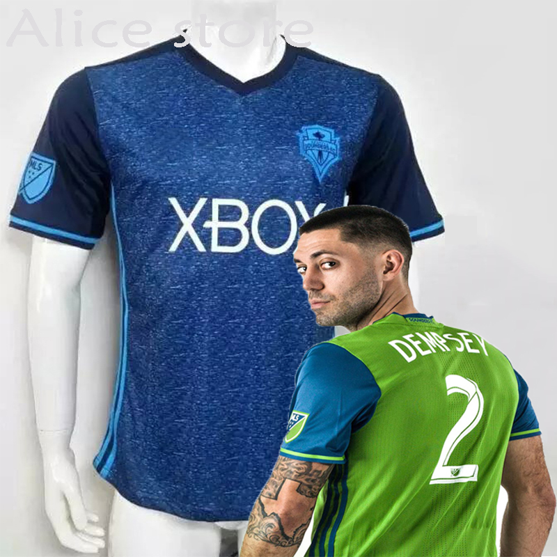 Seattle Sounders FC 2016 2017 home away soccer jerseys survetement football maillot de foot Thai quality(China (Mainland))