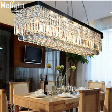 2015 New Modern Crystal Chandelier Pandent Lamp square shape lutre pendant light