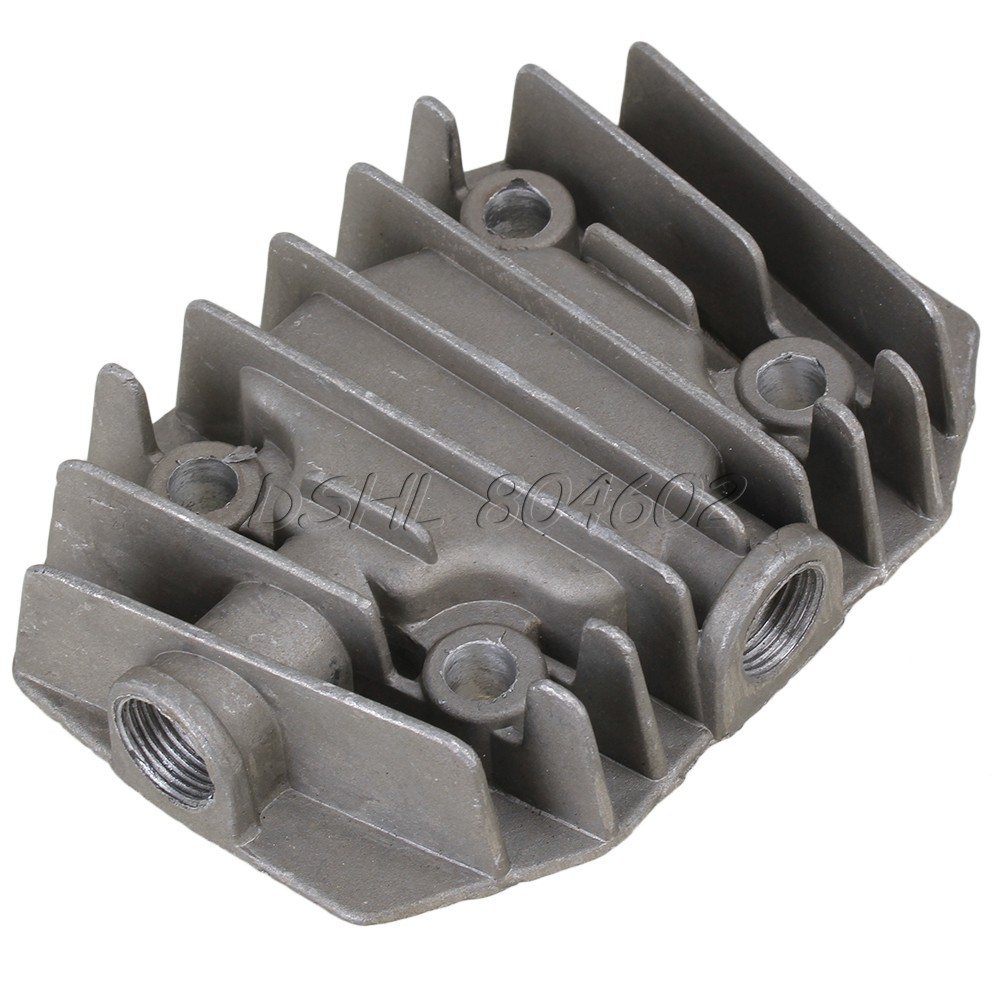 Air Compressor Parts Hardware 3/8BSP Female Thread Dia Cylinder Head 9mm Bore(China (Mainland))