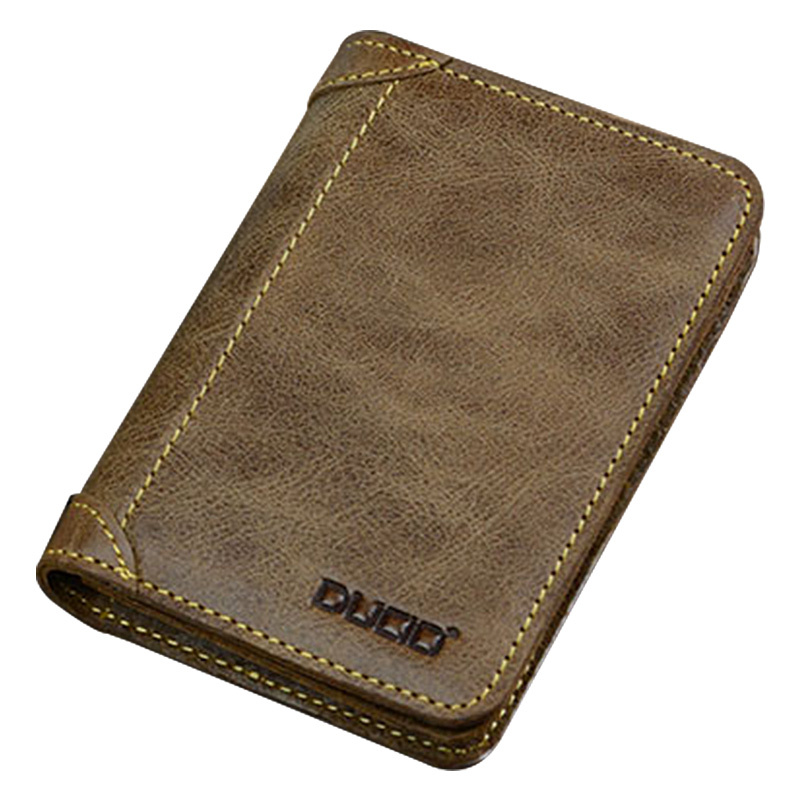 Brand Desigual Real Genuine Leather Card Holders Men Women