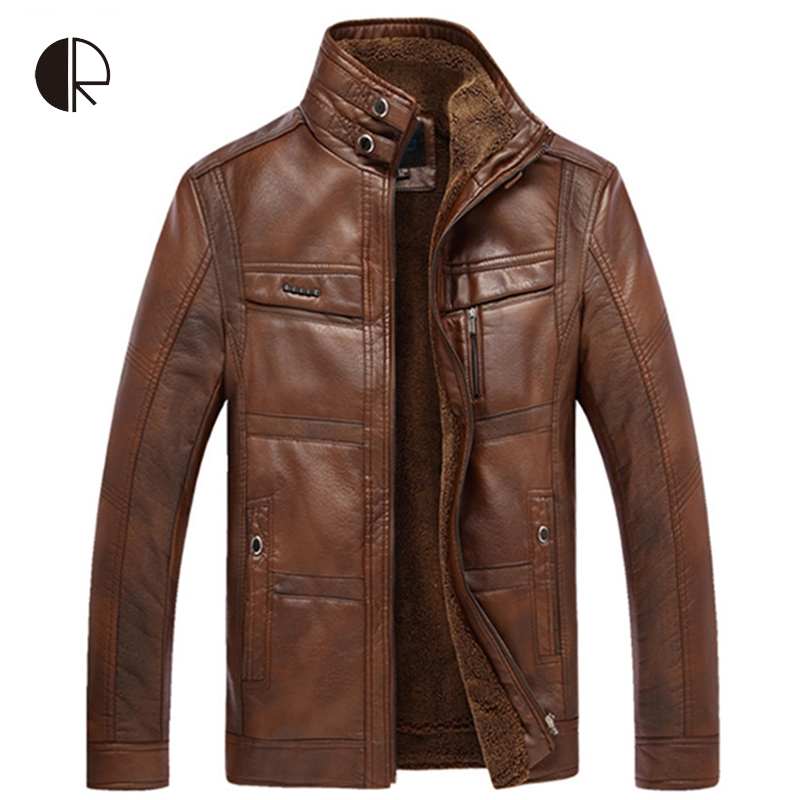 2015 New Arrival Brand Mens Leather Jackets Zip Leather Jackets Motorcycle Leather Jackets Jaqueta De Couro Masculina(China (Mainland))