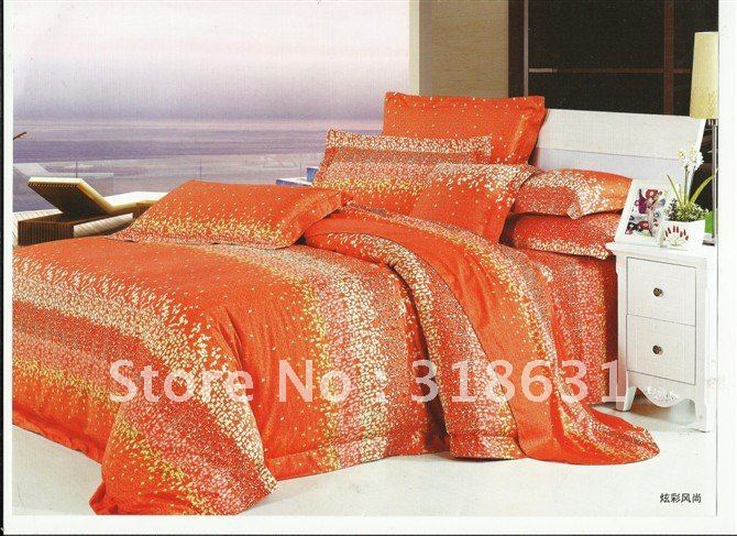 Popular Orange Bedlinen Buy Cheap Orange Bedlinen Lots