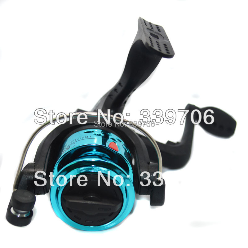New in 2015 feeder fishing rod spinning fishing reel carp for In line ice fishing reel
