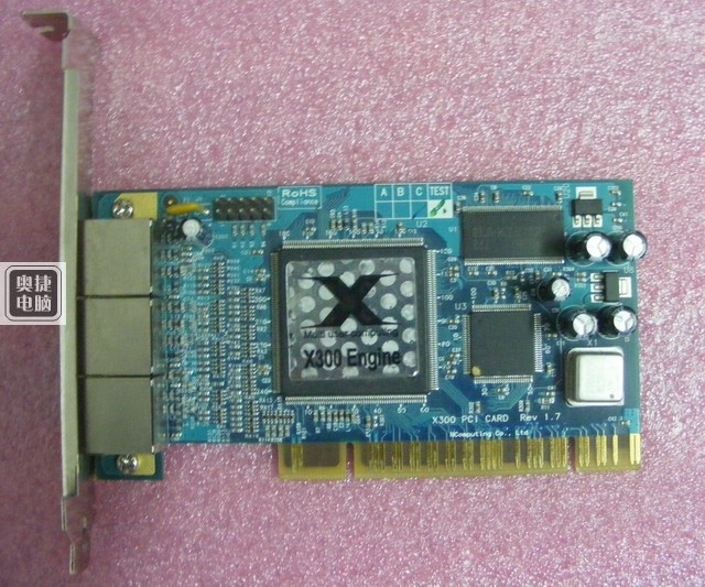 X300 PCI 3 Port Card and thin client cloud terminal DHL EMS free shipping(China (Mainland))