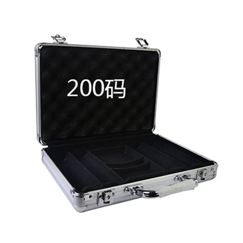 Wholesale retail high-grade professional aluminum chip boxes 200 code yard chips poker coin carrying case<br><br>Aliexpress