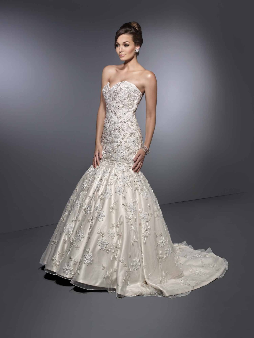 Mermaid Wedding Dresses With Diamonds : Sexy adult mermaid wedding dresses lace up backless bridal gowns