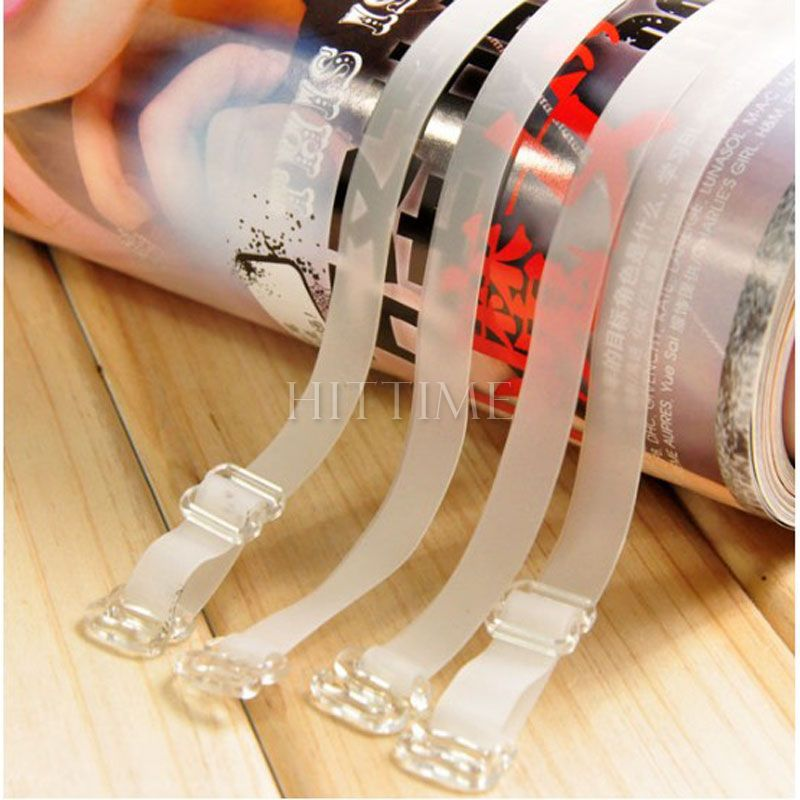 10pair Lady Transparent Invisible Adjustable Clear Bra Straps #5524(China (Mainland))