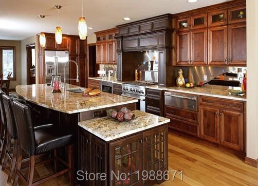 kitchen cabinets ideas » walnut kitchen cabinets granite