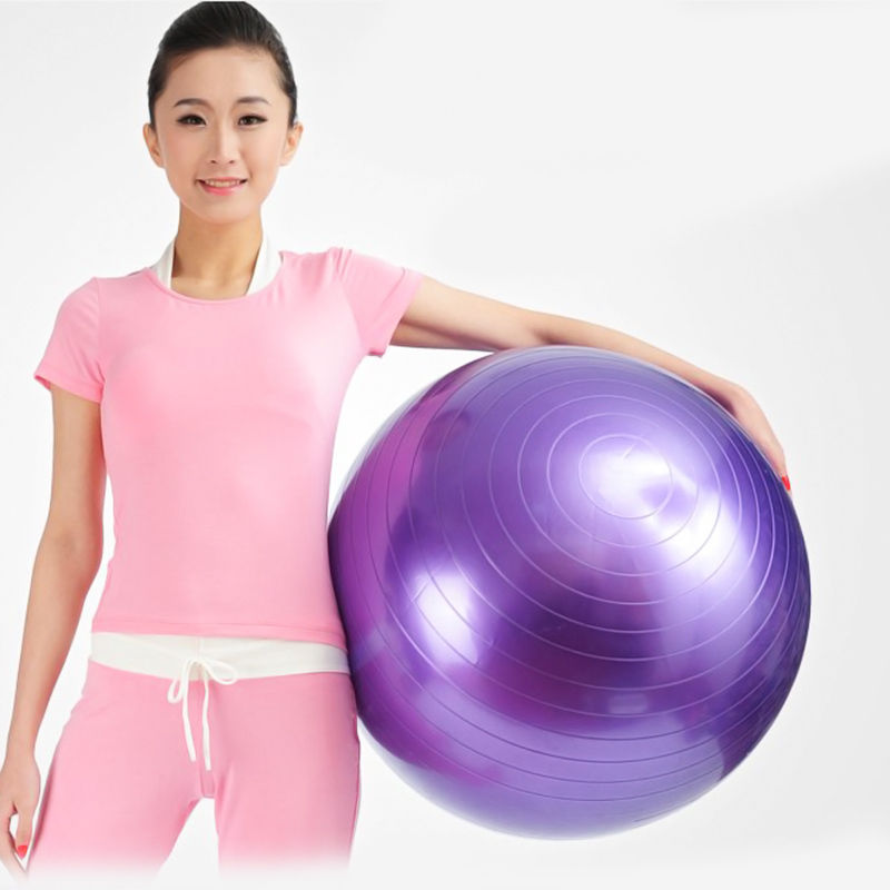1PCS New 85CM Balance Stability Ball for Yoga Fitness & Exercise Ball + Air Pump(China (Mainland))