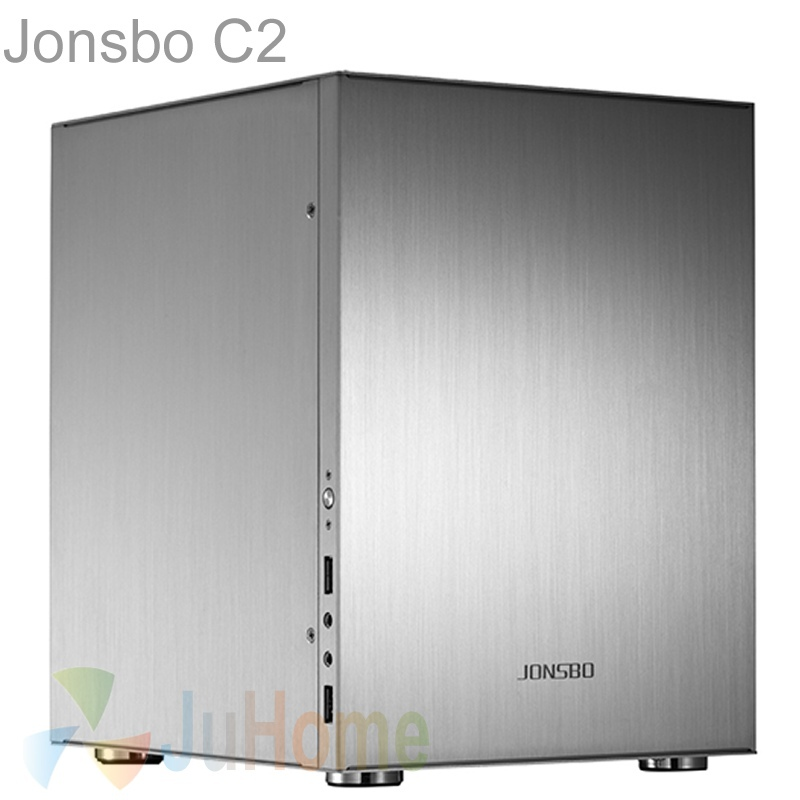 Jonsbo C2, HTPC ITX Mini case of the computer all aluminum, 3.5'' HDD, USB3.0, Home theater multimedia computer, Others C3 V4(China (Mainland))