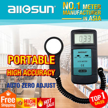 Digital LCD Light Meter Luxmeter Luminometer Tester Photometer all-sun LX101