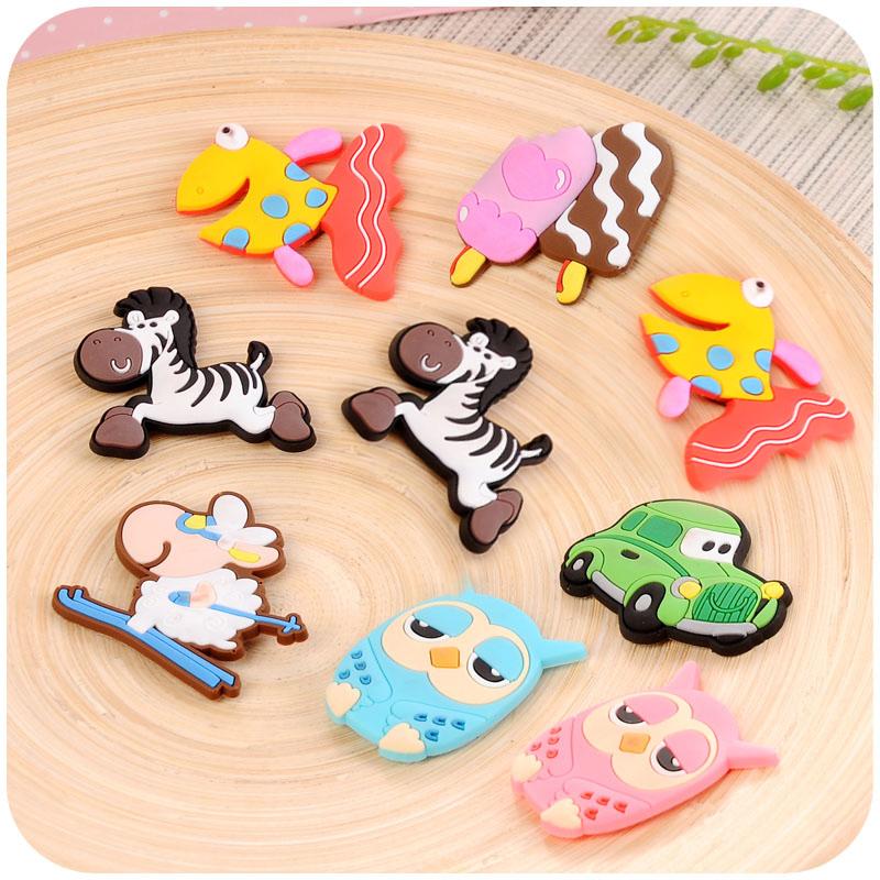 1 PC Fridge Magnet on the Fridge Decorative Refrigerator Magnets Sticker Magnets for Kids Souvenirs Cute Cartoon(China (Mainland))