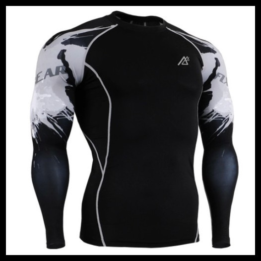 Tee Shirt Men Fixgear Fitness Sport Compression Shirt Men Brand Logo Cheap Male Clothing Bodybuilding Muscles Free Shipping(China (Mainland))