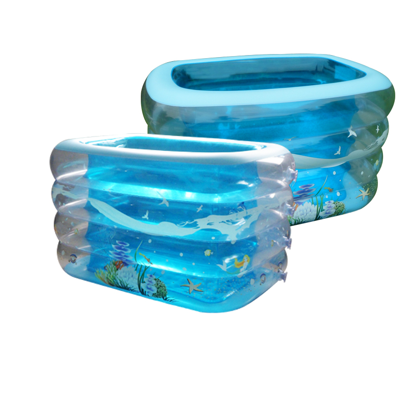 Summer music extra thick insulation double drainage baby articles baby swimming pool children inflatable swimming pool(China (Mainland))