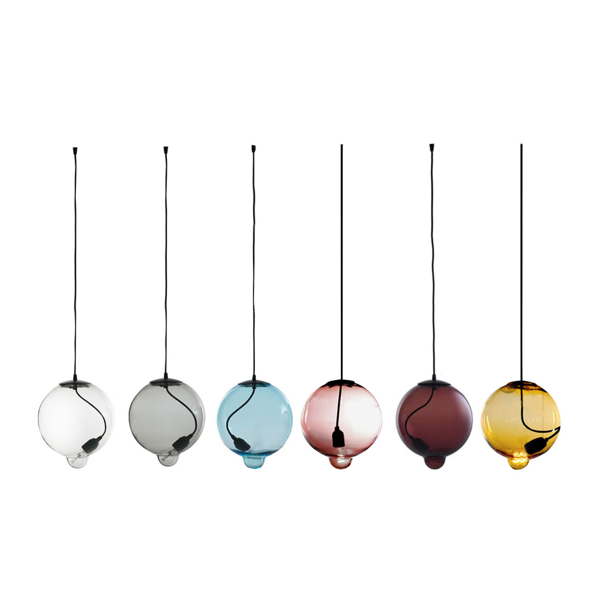 Modern Simple Bump Glass Pendant Lamp European Individuality Creative Restaurant Bedroom Living Room(China (Mainland))