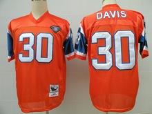 High-quality#49 Dennis Smith #7 John Elway #30 Terrell Davis #27 Steve Atwater #18 Peyton Manning for Throwback Bronco(China (Mainland))