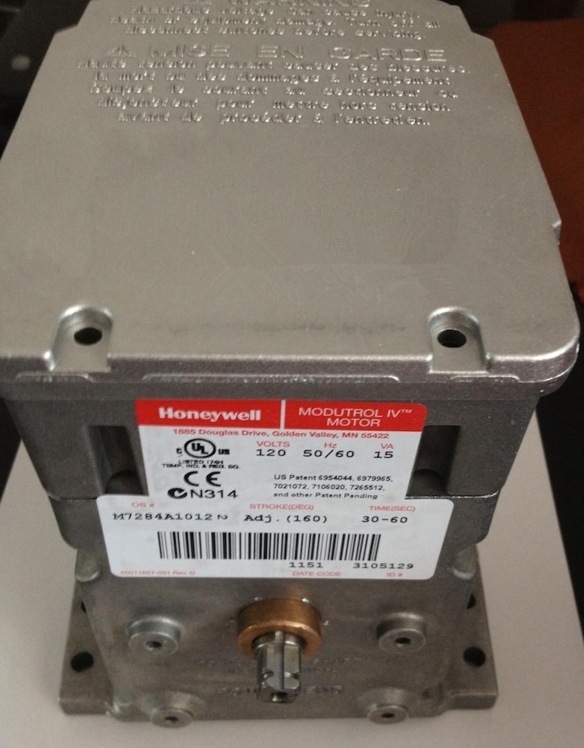 M7284a1012 17nm Honeywell Damper Actuators Modutrol Motor