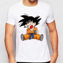 Buy 2016 Men's Fashion Japan Anime Dragon Ball Z T Shirt Super Saiyan Printed shirt Vegeta Son Goku Tee Hipster Hot Tops for $8.79 in AliExpress store