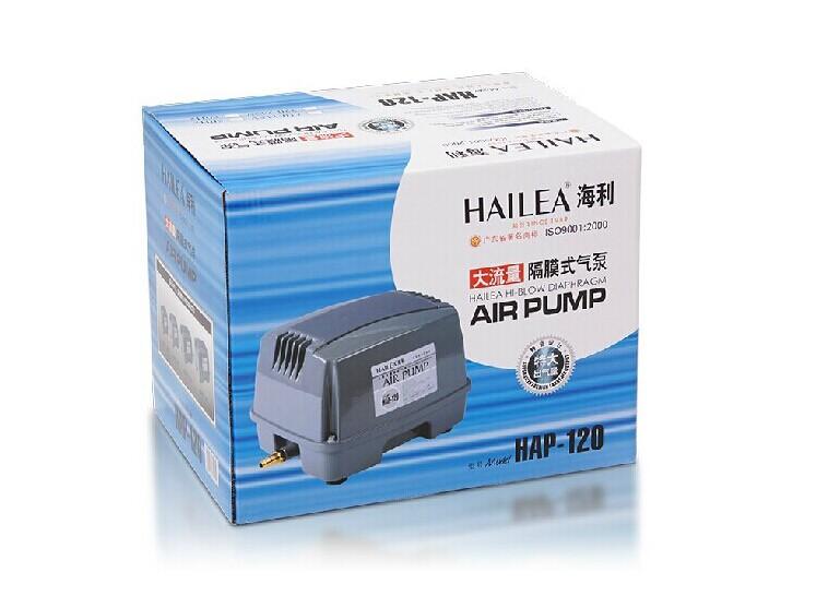 Sea e Lee HAP-60/80/100/120 high flow diaphragm pump oxygen pump fish pond fish aerator(China (Mainland))