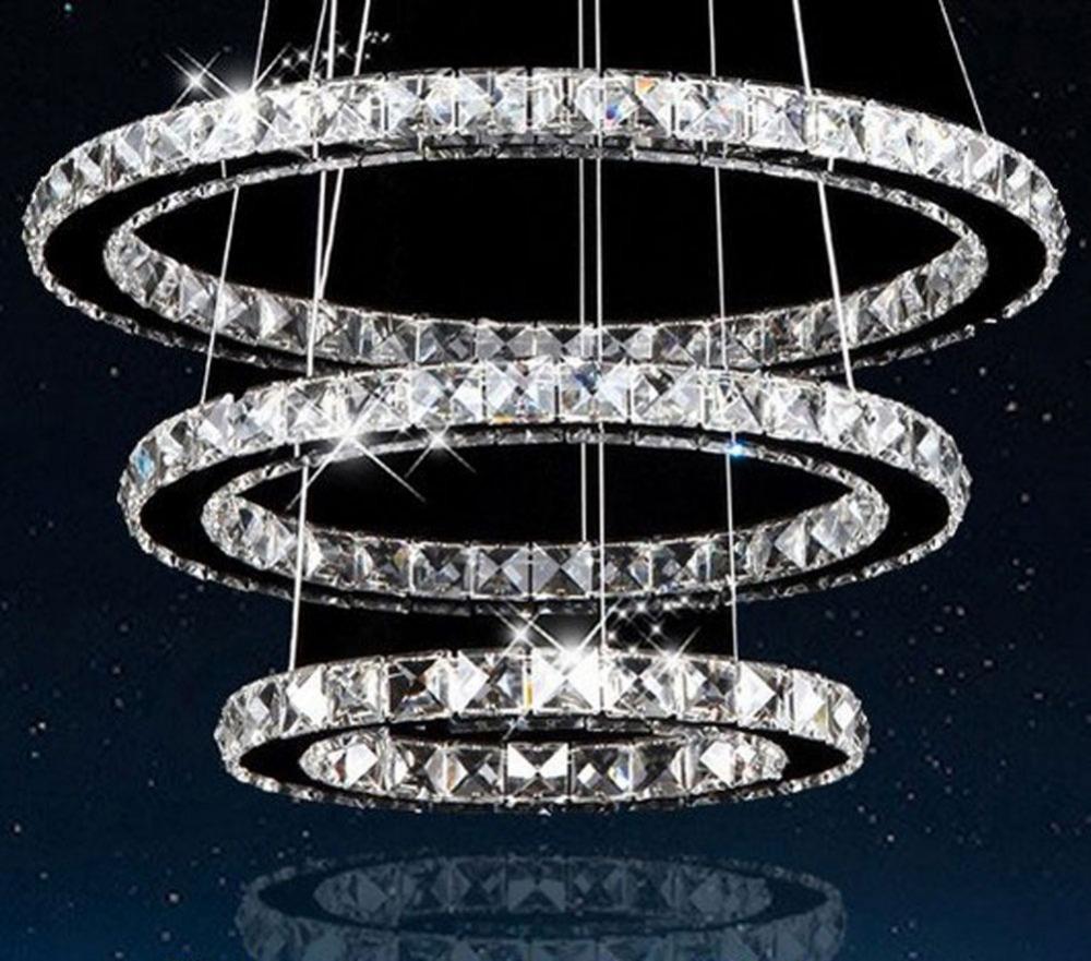 buy modern led lustre chandeliers crystal. Black Bedroom Furniture Sets. Home Design Ideas