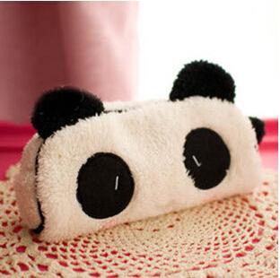 15pcs/lot Cute Gift Soft Plush Panda Pencil bag Nice Cosmetic Fabric coin purse No.0296<br><br>Aliexpress