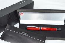 Металл марка шариковая ручка мяч точка бизнес для письмо подарки канцелярские удобный исполнительный