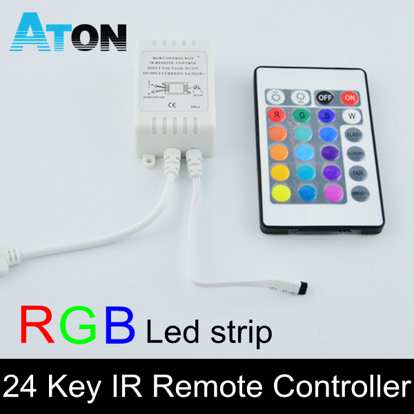 LED infrared controller 3528smd 5050smd led RGB strips lights colorful lights IR remote control RGB Controler free shipping(China (Mainland))