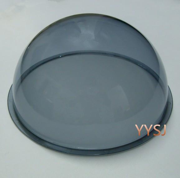7inch Speed dome cover protect ip camera housing ball hemisphere PMMA(China (Mainland))