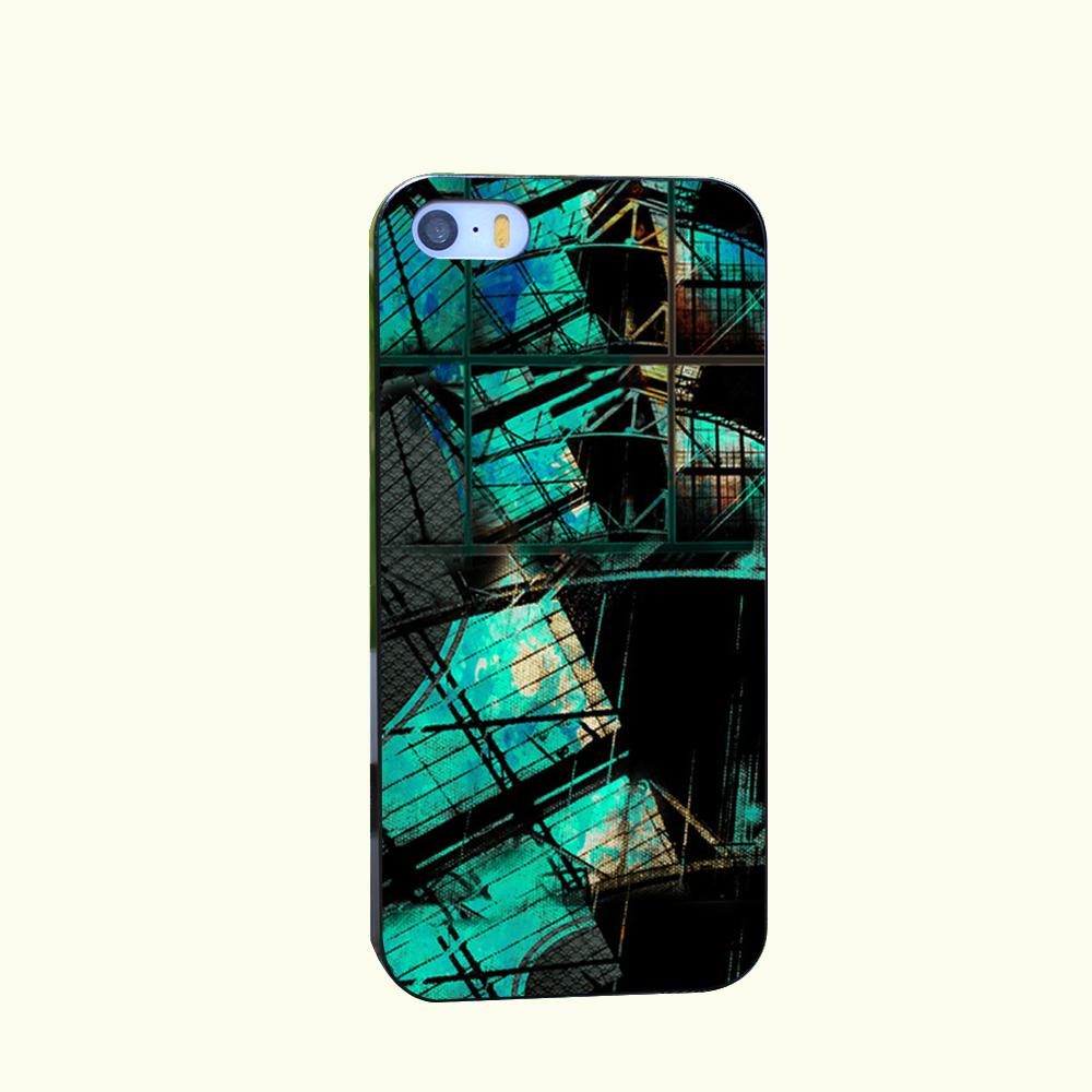 Contact Fail Style Hard Cover for iPhone 4 4s 5 5s 5c 6 6s Plus Black Protect Cover(China (Mainland))