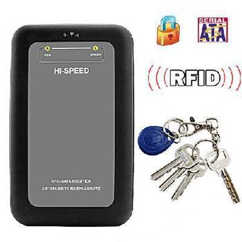 RFID  Security 2.5 Inch SATA HDD Enclosure
